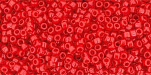 TOHO Rocailles 15/0 (#45A) Opaque Cherry
