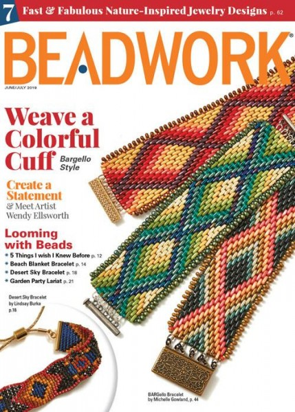 Beadwork Magazine June/July 2019
