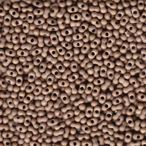 Matsuno Peanut Beads 2x4mm (P4016-MA) Matte Sandstone