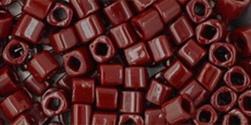 TOHO Cube 3mm (#46) Opaque Oxblood