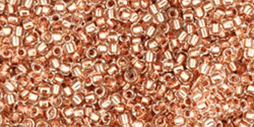 TOHO Rocailles 15/0 (#740) Copper-Lined Crystal