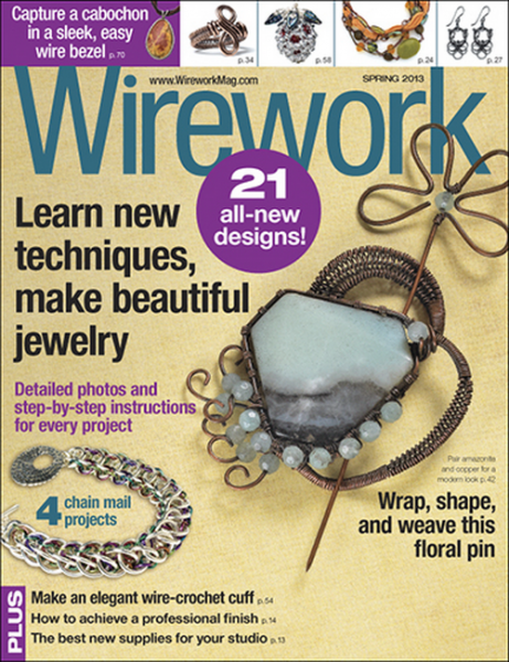 Bead & Button Special - Wirework Spring 2013