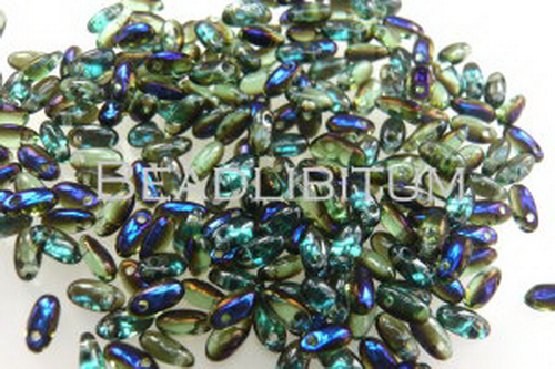 Rizo Beads 2,5x6mm Peridot Azuro