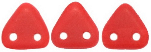 CzechMates Triangle 6mm Matte - Opaque Red