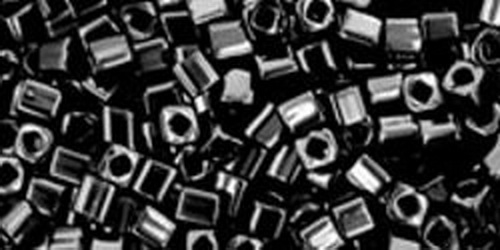TOHO Cube 2mm (#49) Opaque Jet