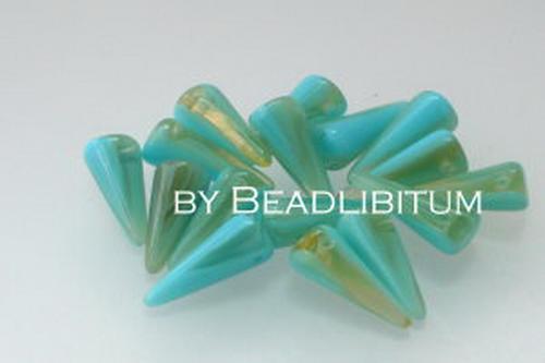 Spike Beads 5x13 mm Laguna, 10 St.
