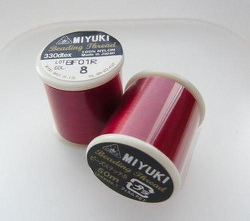 Miyuki Perlenfaden rot