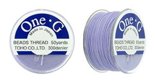 TOHO One-G Perlfaden Light Lavender