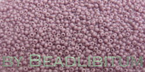 Tschechische Rocailles 16/0 Opaque Lavender, 10g
