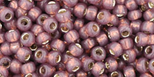 TOHO Rocailles 8/0 (#2114) Silver-Lined Milky Nutmeg