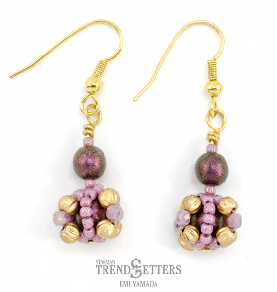 Bon Bon Earrings By TrendSetter Emi Yamada