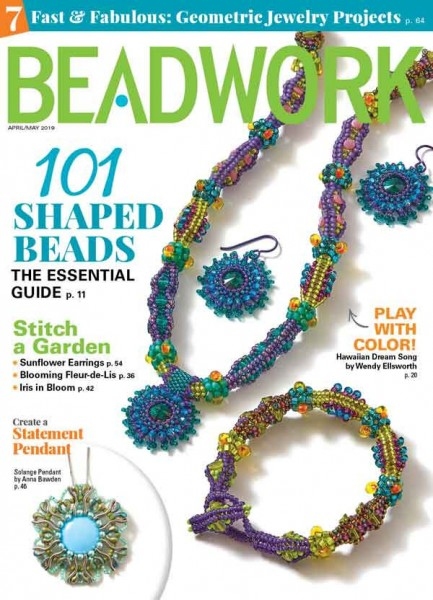 Beadwork Magazine April/May 2019