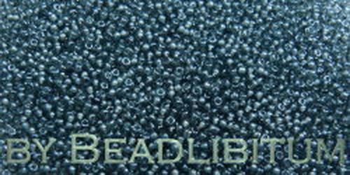 Tschechische Rocailles 16/0 Lustered Montana Blue, 10g