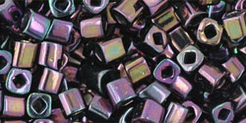 TOHO Cube 3mm (#85) Metallic Iris Purple