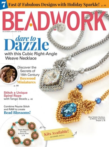 Beadwork Magazine December 2017 / January 2018