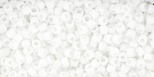 TOHO Treasures 11/0 (#41F) Opaque-Frosted White