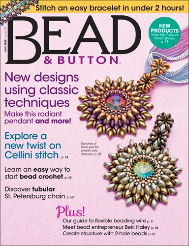Bead & Button Magazine June 2015