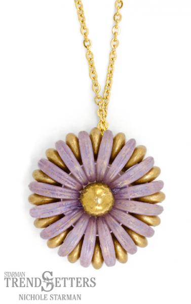 Chrysanthemum Pendant By TrendSetter Nichole Starman