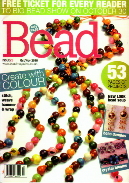 Bead Magazine October / November 2010