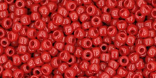 TOHO Rocailles 11/0 (#45) Opaque Pepper Red