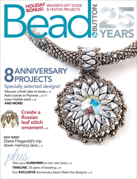 Bead & Button Magazine Dezember 2018