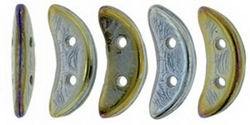 CzechMates Crescent 3x10mm Iris - Brown