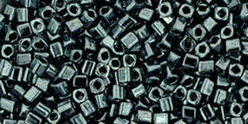 TOHO Cube 2mm (#81) Metallic Hematite