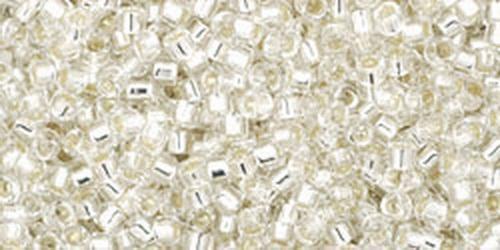 TOHO Treasures 11/0 (#21) Silver-Lined Crystal