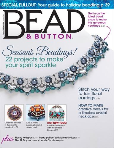 Bead & Button Dezember 2016