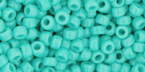 TOHO Rocailles 8/0 (#55) Opaque Turquoise
